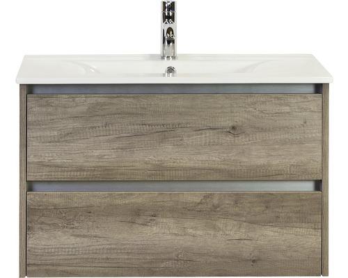 Ensemble de meubles de salle de bains Dante Nebraska oak