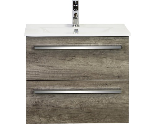 Ensemble de meubles de salle de bains Seville Nebraska oak