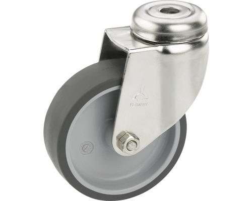 Roulette pivotante pour appareils de transport, jusqu''à 40 kg, 50 x 73 x 18 mm, sans plaque-0