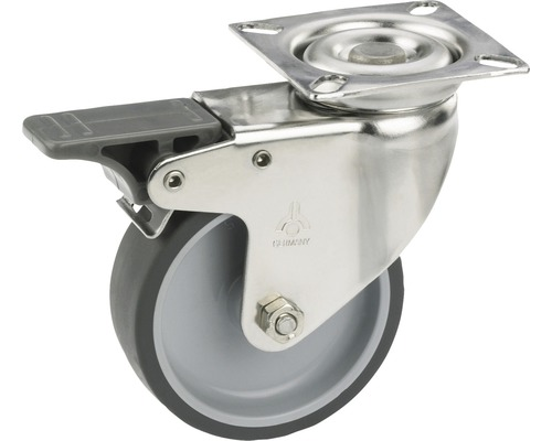 Transport-Geräte-Lenkrolle, bis 40 kg, 50 x 73 x 18 mm