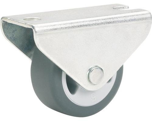 Roulette fixe pour appareils de transport, jusqu''à 30 kg, 25 x 29 x 13 mm-0