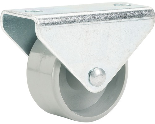 Roulette fixe pour appareils de transport, jusqu'à 50 kg, 45 x 48 x 19 mm