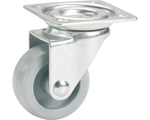 Roulette pivotante pour appareils de transport, jusqu''à 35 kg, 36 x 50 x 15 mm-0