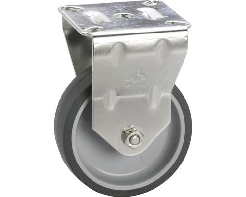 Roulette fixe pour appareils de transport, jusqu'à 40 kg, 50 x 73 x 18 mm