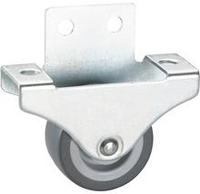Roulette fixe pour appareils de transport, jusqu''à 55 kg, 38 x 47 x 18 mm-thumb-0