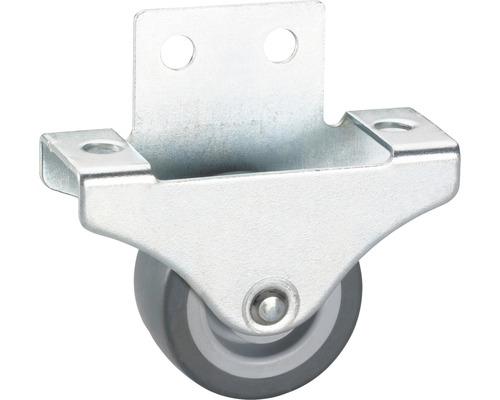 Roulette fixe pour appareils de transport, jusqu''à 55 kg, 38 x 47 x 18 mm-0