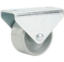 Roulette fixe pour appareils de transport, jusqu''à 40 kg, 25 x 28 x 14 mm-thumb-0
