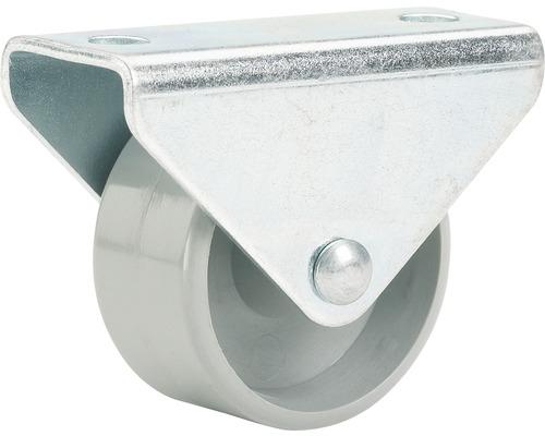 Transport-Geräte-Bockrolle, bis 40 kg, 25 x 28 x 14 mm