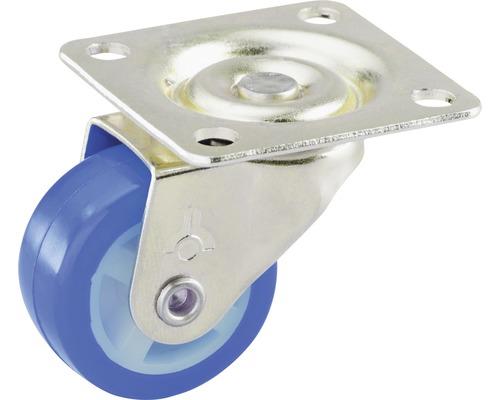 Roulette pivotante pour appareils de transport, 30 x 30 x 14 mm