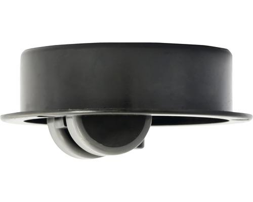 TPE-Bohrsenkrolle 30 mm, Topf PA 95 mm, Gleitlager, PK4