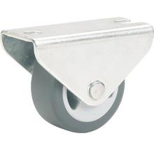 Roulette fixe pour appareils de transport, jusqu''à 35 kg, 30 x 34 x 14 mm-thumb-0