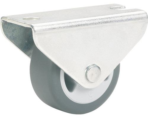 Roulette fixe pour appareils de transport, jusqu''à 35 kg, 30 x 34 x 14 mm-0
