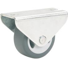 Roulette fixe pour appareils de transport, jusqu''à 55 kg, 50 x 52 x 19 mm-thumb-0
