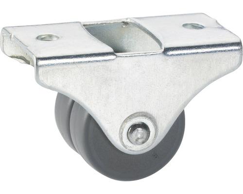 Transport-Geräte-Bockrolle, bis 50 kg, 25 x 33 x 20,5 mm