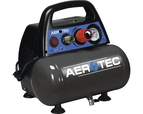 Compresseur Aerotec Airliner 6 sans huile - 8bar