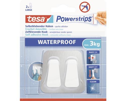 Crochet tesa Powerstrips® Waterproof Duo