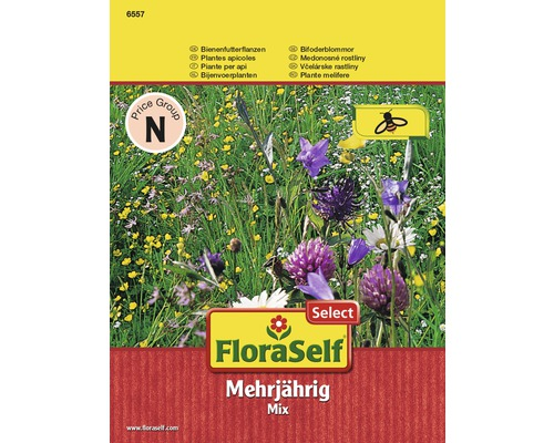 Graines de fleurs nourriture pour abeilles, pluriannuelle FloraSelf®