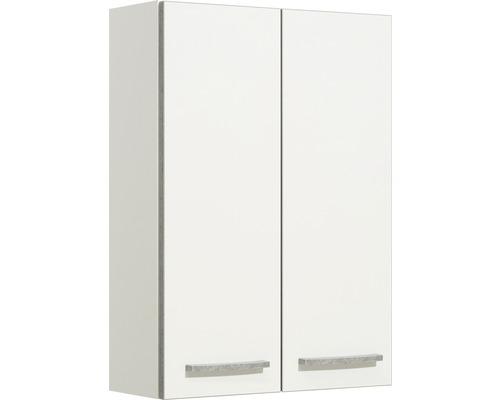 Armoire suspendue pelipal Kassel blanc brillant largeur 50cm