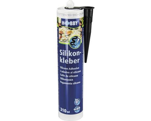 Colle de silicone HOBBY cartouche 310ml noir