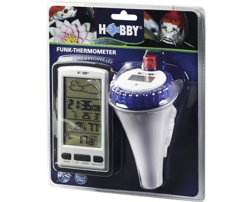 Thermomètre HOBBY avec récepteur radio et rappel de nourrissage