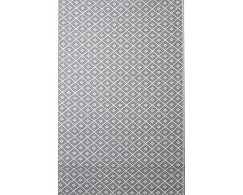Tapis extérieur noir/blanc 120x180cm