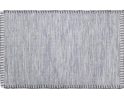 Tapis en chiffon gris clair 50x80cm