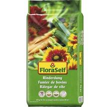 Fumier de bovins FloraSelf engrais organique 10 kg-thumb-0