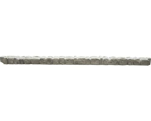 Barre supérieure de clôture en béton Mediterran Rockstone 144x10x6cm