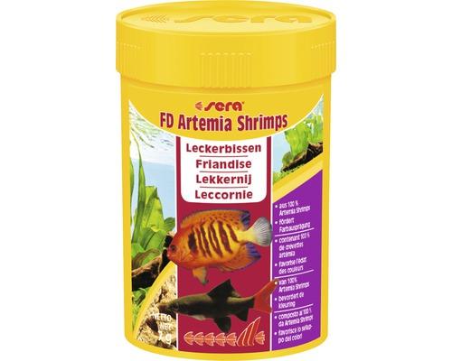 Fischfutter sera FD Artemia Shrimps 100 ml