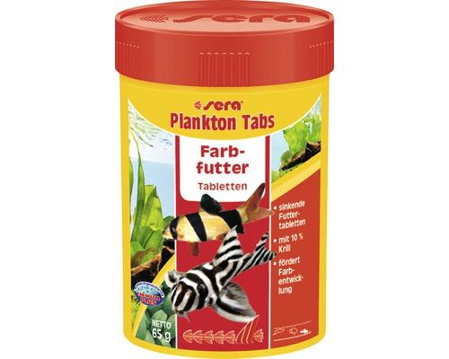 Farbfutter sera Plankton Tabs 100 ml