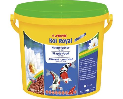 Nourriture principale sera Koi Royal medium 3,8l