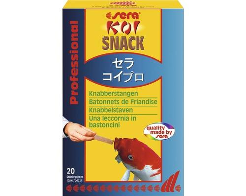 Snack pour koï sera bâtonnets à mâcher 20 pièces