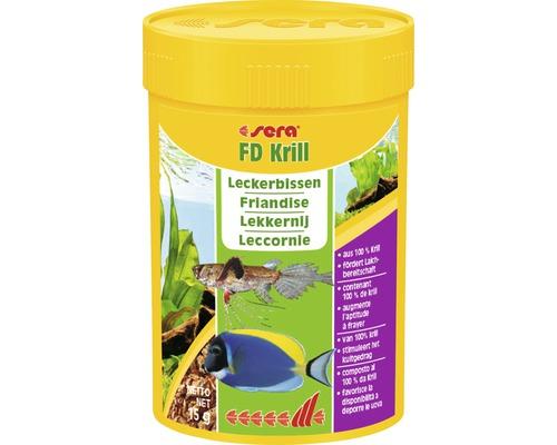 Fischfutter sera FD Krill 100 ml