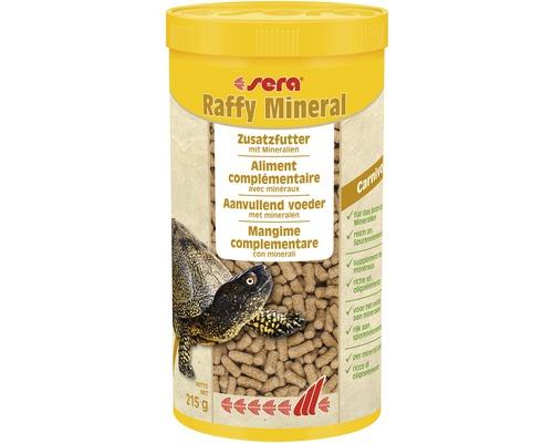 Additif alimentaire sera Raffy Mineral 1 l pour les tortues d''eau