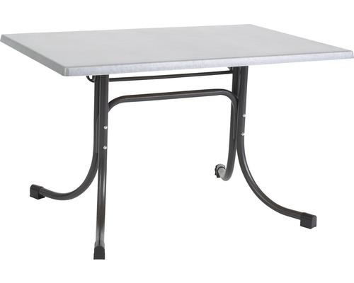 Table de jardin Acamp Boulevard 110x70x72cm anthracite