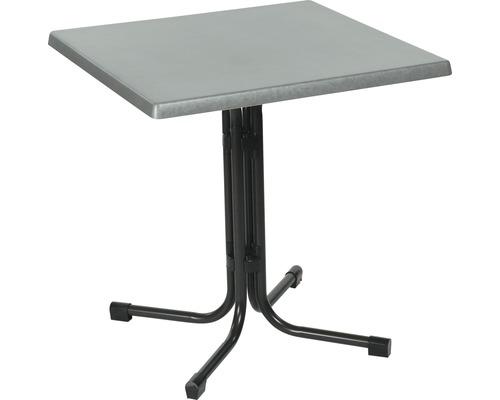 Table de jardin Acamp Piazza 70x70x72cm anthracite