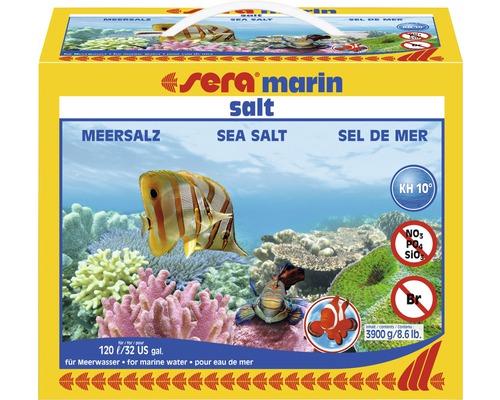 Meersalz sera marin salt 3,9 kg für 120 l