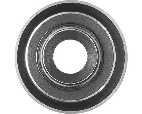 Roue de coupe métal dur 22x6x2 mm montée sur roulements à billes