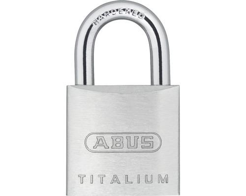 Vorhängeschloss Abus 67TI/20 Twins B/SB Aluminium 20 mm