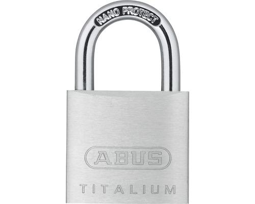 Vorhängeschloss Abus 67TI/30 B/SB Aluminium 30 mm