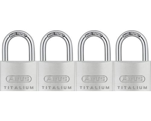 Cadenas Abus 67TI/40 Quads B/SB aluminium 40mm