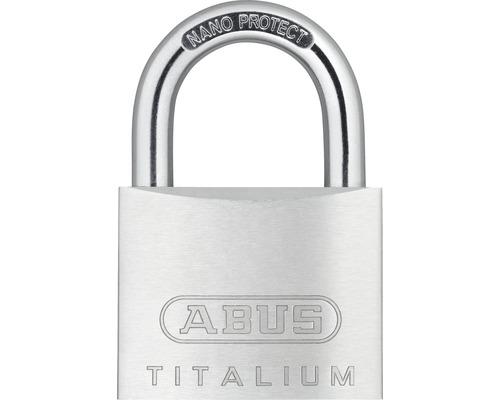 Vorhängeschloss Abus 67TI/45 B/SB Aluminium 45 mm