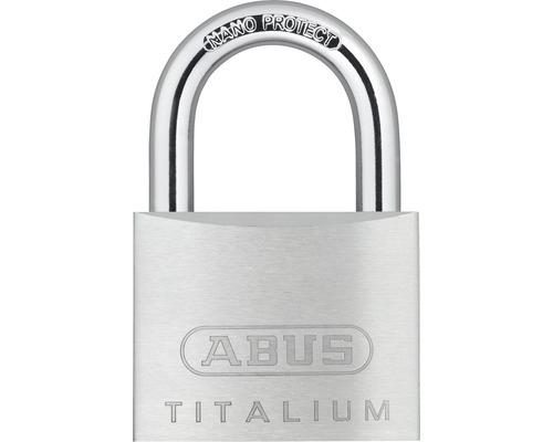 Vorhängeschloss Abus 67TI/50 B/SB Aluminium 50 mm