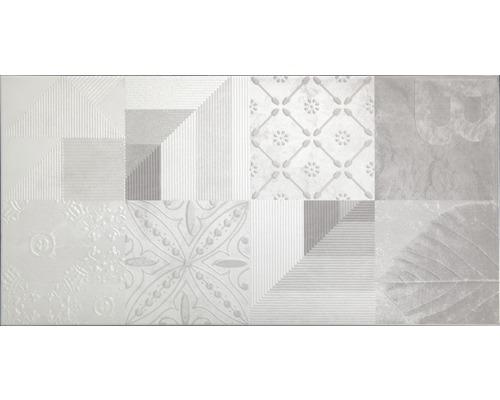 Carrelage mural en grès WOHNIDEE Torino gris 30x60cm