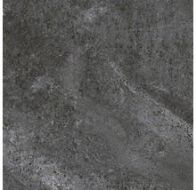 Carrelage pour sol en grès cérame fin WOHNIDEE Torino anthracite 60x60 cm-thumb-0