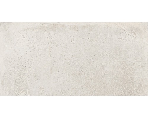 Carrelage sol et mur en grès cérame fin WOHNIDEE Saragossa beige 30 x 60 cm