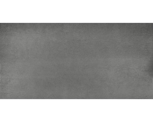 Carrelage pour sol en grès cérame fin WOHNIDEE Cleo anthracite 45x90cm-0