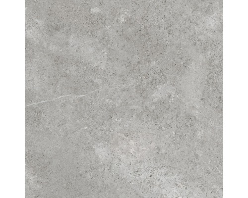 Carrelage pour sol en grès cérame fin WOHNIDEE Torino gris 30x60cm-0