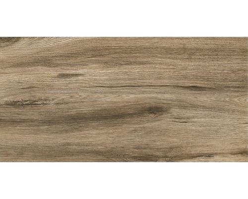 Dalle de terrasse en grès cérame fin Strobus Ebony mat 45x90x2cm