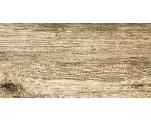 Dalle de terrasse en grès cérame fin Strobus OAK mat 45x90x2cm